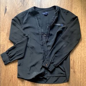 Black Chase Blouse